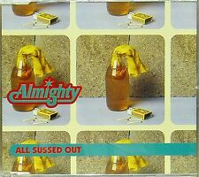 ALMIGHTY 'ALL SUSSED OUT' 3-TRACK CD SINGLE