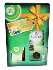 AIR WICK LIFE SCENTS SCENTED CANDLE  & REED DIFFUSER SET WILD BERRY & VANILLA