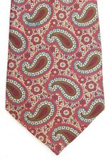 Jaeger Paisley tie vintage 1980s 1990s all silk slightly worn cheap and cheerful
