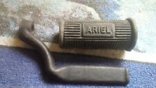 Ariel Foot rest & rubber, New. May be off RED HUNTER ?