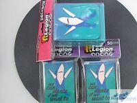 100 LEGION LEFT SHARK DECK PROTECTOR CARD SLEEVES AND DECK BOX