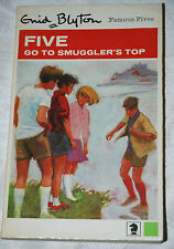 FIVE GO TO SMUGGLER'S TOP Enid Blyton 1969 Illustrated Eileen Soper -  paperback