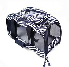Oxford Pet Carrier Soft Sided Cat / Dog Comfort Travel Tote Bag Airline Approved