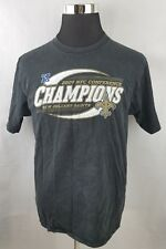 2009 NFL New Orleans Saints NFC CONFERENCE CHAMPIONS Reebok Black Shirt  Men s M e94b65847