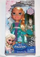 NEW- Disney Frozen Elsa Toddler Princess Doll & Olaf Playset 2014 Eyes Movie Toy