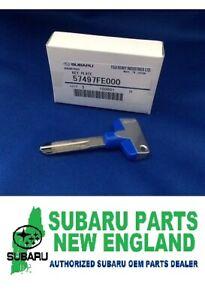Genuine OEM JDM Subaru STi Key Blank 57497FE000 WRX IMPREZA