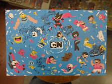 2019 SDCC Cartoon Network First Look Signed Poster by 5 w/sketches + Bonus