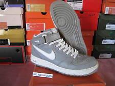 2002 Nike Air Force 1 Mid GREY 10.5 Jewel JP Canvas 99 98 Stash Tier 0 QS HS