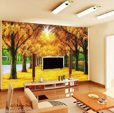 Autumn leaves Wall Paper Wall Print Decal Wall Deco Indoor wall Mural Home