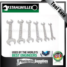 Stahlwille Double Open Ended Spanner 6 Piece  Set SWVP10/6 10mm TO 22mm