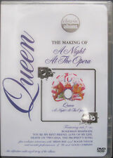 "Queen - Freddie Mercury - THE MAKING OF A ""NIGHT AT THE OPERA"" DVD - NM"