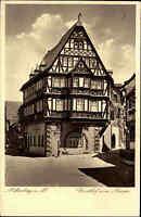 MILTENBERG Main Gasthof ZUM RIESEN alte AK 1936 alte Postkarte