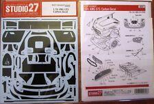 DECAL: 1/24 S27 CARBON FIBER SET: MERCEDES AMG GT3