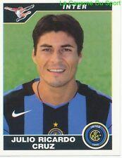 JULIO RICARDO CRUZ ARGENTINA INTER RARE UPDATE STICKER CALCIATORI 2005 PANINI