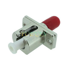 Optical Fiber Connector LC - DIN Female to Female Adapter Flange Coupling