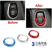 One Button Start Engine Switch Cover Trim Sticker Fit For BMW Series 1 2 3 4 X1