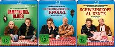 3 Blu-rays * EBERHOFER KRIMI FAN SET - u.a. SCHWEINSKOPF AL DENTE # NEU OVP %