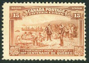 Stamp Canada, Scott # 102 Mint NG