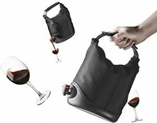 Wine in a box Dispenser, Drinks Party Entertaining Vodka shots New Black