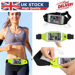 Sports Mobile Waist Phone Holder Bag Running Gym Waistband Exercise All Phones