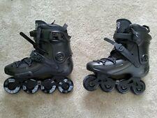 FR FR1 80 Inline Skates Black (EU 43, US 10, UK 9)
