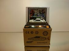 SHELL COLLECTION LOTUS ESPRIT - JAMES BOND 007 - WHITE - EXCELLENT IN BOX