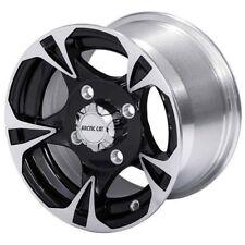 """Textron/Arctic Cat 12x6.0"""" Black Magic Front Rim Wheel Wildcat ATV - 2436-194"""