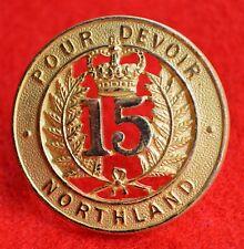 New Zealand. Northland Regiment Genuine Officer's Cap Badge