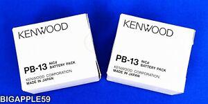 Original NOS PB-13 Battery KENWOOD TK-25A, TK-26A, TK-27A, TK-28A, TK-45A, TH-27
