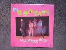 "THE BOPCATS ""WILD JUNGLE ROCK"" 1982 ATTIC CANADA EX/EX W/INSERT OOP ROCKABILLY!"