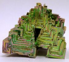 Bismuth Tower Beautiful Unique One of a Kind Display Hand Made USA Rainbow 3