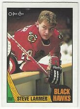 1987-88 OPC HOCKEY #59 STEVE LARMER - NEAR MINT