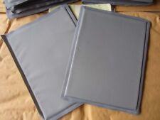 2 Pieces Gray Unbranded Ballistic Trauma Pad Kev-lar Gold Flex 6x8 inches