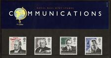 GB 1995 PIONEERS OF COMMUNICATIONS PRESENTATION PACK NO 260
