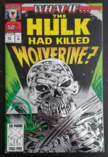 WHAT IF #50 (1995 MARVEL) *DEATH OF WOLVERINE* NM