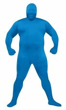 Skin Body Suit Adult Costume Back Zipper Halloween Dress Up Funworld Plus Size