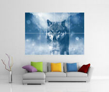 WOLF GIANT WALL ART PRINT PHOTO POSTER