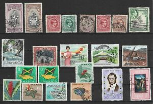Jamaica Different stamps