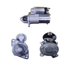 Adatto a VAUXHALL MERIVA A 1.6 Turbo Motore di Avviamento 2006-2010 - 17939UK