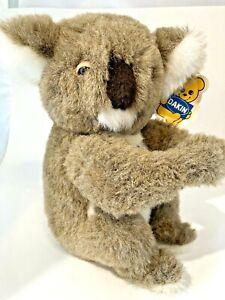 "VINTAGE 1981 Dakin Pillow Pets 11"" Quincy Koala Bear Plush Stuffed Toys W/Tags"