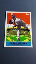 JOHAN SANTANA 2007 TOPPS FLASHBACK FRIDAYS CARD # FF13 A8724
