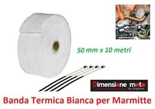 BTE100B - Banda Termica Bianca 50mm/10m per Marmitte/Echappement moto HYOSUNG