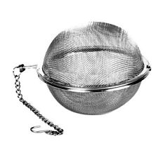R & M International 4619 Stainless Steel Mesh Tea Infuser Ball, Large, 3-Inch