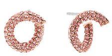Michael Kors - Rose Gold-Tone Crystal Pave Earrings MKJ6128791