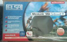Elsa MicroLink 56K Internet vintage komplett