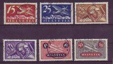 Gestempelte schweizer Briefmarken (bis 1945) als Satz