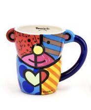 Romero Britto  Ceramic Teddy Bear Mug 12 0z