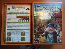 Carcassonne: Abbey & Mayor 5th Expansion ENGLISH, ORIGINAL ZMAN GAMES