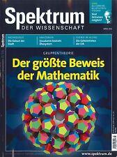Spektrum der Wissenschaft, Heft März 03/2016: Gruppentheorie +++ wie neu +++