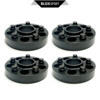 4 | 25mm+30mm For Maserati Granturismo S M145 Front & Rear Wheel Spacers 5x114.3